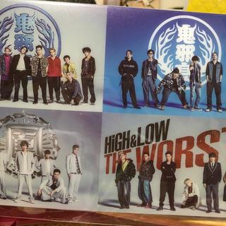 ザランページ(THE RAMPAGE)のhigh&low アルバム(男性タレント)