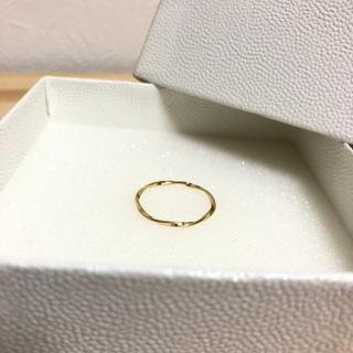 ユナイテッドアローズ(UNITED ARROWS)の特別sale UNITED ARROWS 新品未使用 デザインツイストリング(リング(指輪))