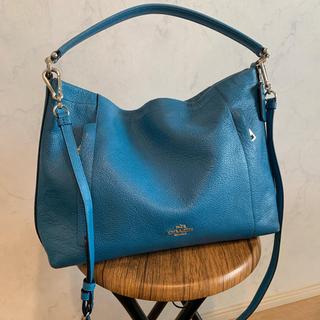 COACH - COACH ハンドバッグ ブルー