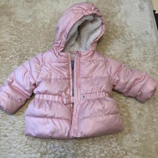 babyGAP - ベビーコート baby Gap80サイズ ピンク 裏ボアコート ピンク
