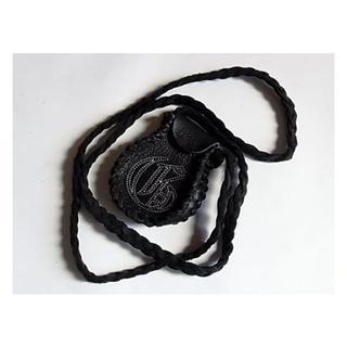GARNI - 新品ガルニGARNIレザー メディスン ポーチ ネックレス革ブラック黒色