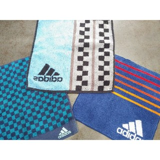 アディダス(adidas)の【アディダス 】タオルハンカチ3枚セット(その他)