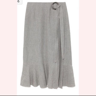 ミラオーウェン(Mila Owen)のMila owen リングデザインワッフルスカート(ひざ丈スカート)