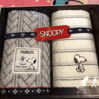 SNOOPY - SNOOPYタオルセット新品未使用