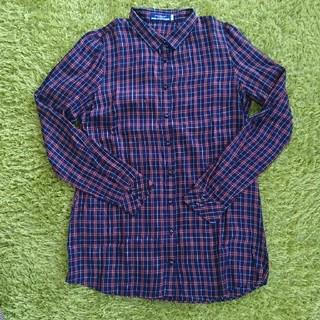 バーバリーブルーレーベル(BURBERRY BLUE LABEL)のチェックシャツ(シャツ/ブラウス(長袖/七分))
