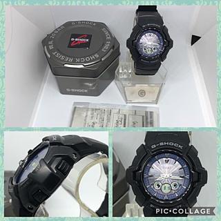 ジーショック(G-SHOCK)のCASIO G-SHOCK 超希少人気の ブラックカラーモデル ソーラー電波 ♪(腕時計(アナログ))