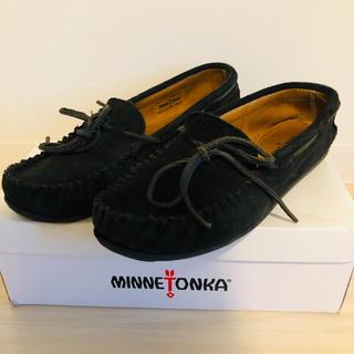 Minnetonka - ミネトンカ モカシン スエード ブラック