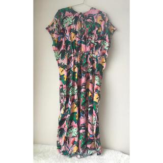 アクネ(ACNE)のparis atelierオケージョン ワンピース ドレス ピンク カラフル(ロングワンピース/マキシワンピース)