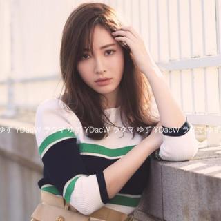 Rirandture - ♡新品未使用タグ付♡リランドチュール♡配色ボーダーニット♡グリーン♡