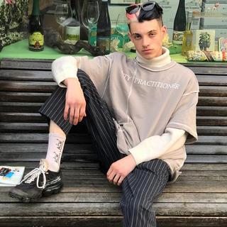 Balenciaga - Harsh & cruel 再構築 半袖スウェット Tee