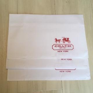 コーチ(COACH)のCOACH 布袋 3枚セット(ショップ袋)