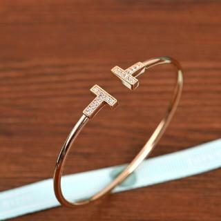 Tiffany & Co. - Tiffany &Co. バングル レディース 新品 ピンクゴールド