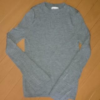 PLST - PLST リブニットセーター