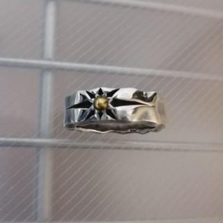 超美品☆シルバー925 太陽のシンボル リング 17号☆(リング(指輪))