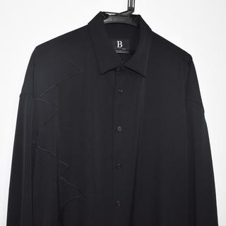 Yohji Yamamoto - b yohjiyamamoto 18ss 刺繍ロングシャツ