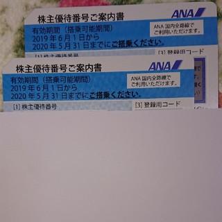 ANA(全日本空輸) - 未使用★ANA株主優待