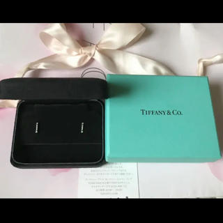 ティファニー(Tiffany & Co.)の美品◆正規品 ティファニー フルール ド リス プラチナ ピアス(ピアス)