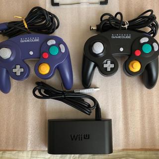 ニンテンドースイッチ(Nintendo Switch)のゲームキューブコントローラー×2個&接続タップセット(その他)
