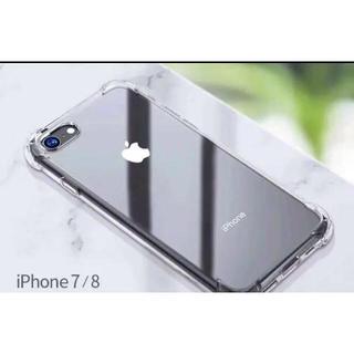 新品スマホケース iPhone7/8通常もしくは plus TPU 透明 クリア