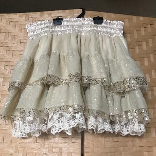 ミスティウーマン(mysty woman)のスパンコールスカート(ミニスカート)