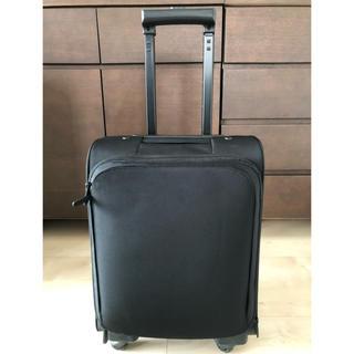 MUJI (無印良品) - 無印良品 四輪キャリー スーツケース 撥水加工ポリエステルジャバラポケット