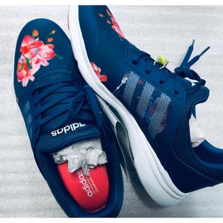 adidas - アディダス  花柄 新品未使用 レディース 24 cm
