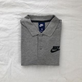 NIKE - NIKE ナイキ ポロシャツ グレー 半袖