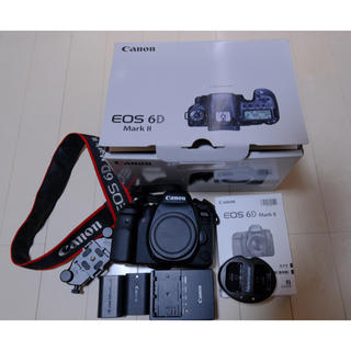 Canon - キヤノン eos 6d mark2 canon