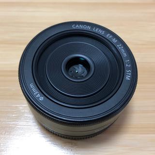 Canon - Canon 単焦点レンズ EF-M22mm F2 STM ブラック