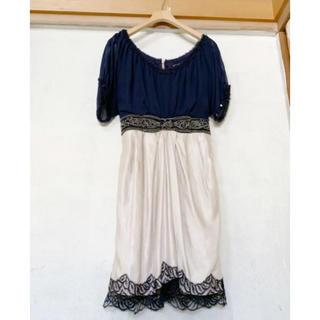 グレースコンチネンタル(GRACE CONTINENTAL)のグレースコンチネンタル ドレス(ミニワンピース)
