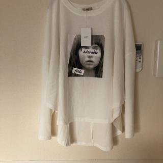 ミスティック(mystic)の新品タグ付き ミスティック フォトラウンドT(Tシャツ(長袖/七分))