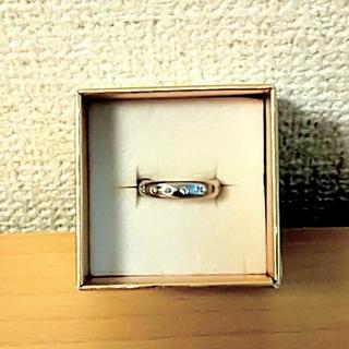 中古☆  プラチナダイヤモンドリング(リング(指輪))