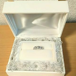 中古美品☆ ダイヤモンドリング プラチナ(リング(指輪))