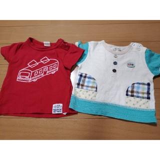 ムージョンジョン(mou jon jon)のティーシャツ シャツ 男の子 70 80 ムージョンジョン(Tシャツ)
