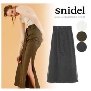 snidel - チノロングスカート  snidel