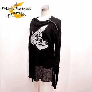 Vivienne Westwood - 極美品 ヴィヴィアンウエストウッド アングロマニア 変形 ニット カットソー