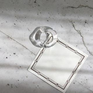 クリアリング  ⁎⁺˳✧༚  約12〜13号(リング(指輪))