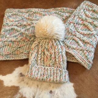 ローズバッド(ROSE BUD)のローズバッド ストール&ニット帽(ニット帽/ビーニー)