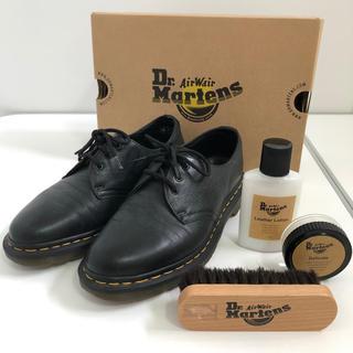 ドクターマーチン(Dr.Martens)のドクターマーチン 3ホール メンテ用品3点付き(ローファー/革靴)