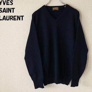 サンローラン(Saint Laurent)の【人気】イヴ・サンローラン カシミヤ100% セーター サイズ3 正規品 福助(ニット/セーター)