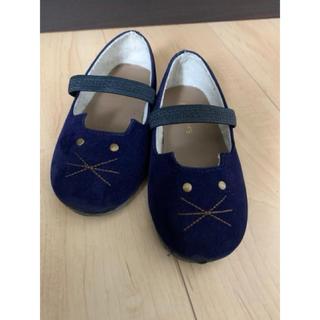 サマンサモスモス(SM2)の《美品》SM2 16cm 猫靴(フォーマルシューズ)