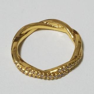 ファンション リング ゴールド #12(リング(指輪))