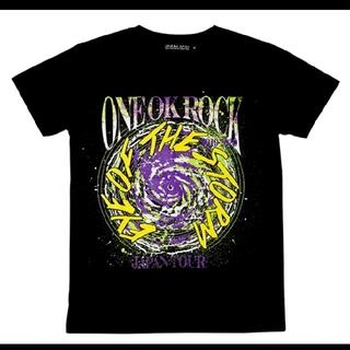 ワンオクロック(ONE OK ROCK)のONE OK ROCK ライブ ツアー グッズ Tシャツ ブラック M ワンオク(Tシャツ/カットソー(半袖/袖なし))
