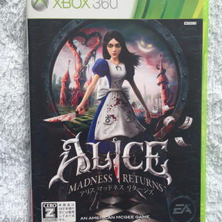 Xbox360 - アリス マッドネス リターンズ Xbox360版