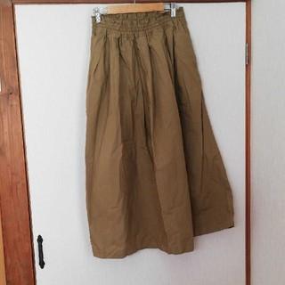 MUJI (無印良品) - 無印良品  スカート L キャメル
