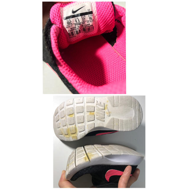 NIKE(ナイキ)のナイキ16㎝♡ キッズ/ベビー/マタニティのキッズ靴/シューズ(15cm~)(スニーカー)の商品写真