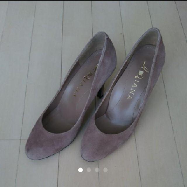 DIANA(ダイアナ)のダイアナ パンプス グレージュ レディースの靴/シューズ(ハイヒール/パンプス)の商品写真
