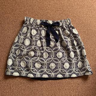 ザラキッズ(ZARA KIDS)のZARA GIRLS 花柄スカート (スカート)