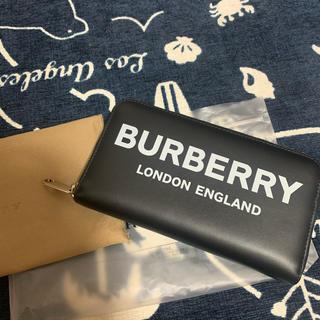 BURBERRY - 2019年新作 BURBERRY ジップウォレット 財布