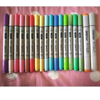 TOOLS - コピックチャオ&コピックスケッチ17色 +カラーレスブレンダー